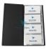 Визитница на 96 визиток, PVC (120 мм x 245 мм) Panta Plast 0304-0005-01 черный 2