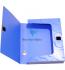 Бокс пластиковый для документов на липучке OMEGA А4, ширина 55мм Panta Plast 0410-0044-99 синий 0