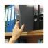Бокс пластиковый для документов на липучке А4, ширина 60 мм Axent 1760-01-A  черный 1
