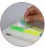 Закладки пластиковые 38 мм х 45 мм, 30 шт неоновых цветов  AXENT 2447-01-A 1