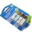 Закладки пластиковые 45 х 12 мм, 4 цвета по 20 шт. DONAU 7568001PL-99 1