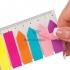 Закладки пластиковые NEON (8 х 25 л.) 45 х 12 мм и 42 х 12 мм Buromax BM.2307-98 2