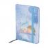 Записная книга A6, 80 листов, белый внутренний блок в клетку Gapchinska GP-18 Axent 8402-18-A 2