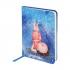 Записная книга A6, 96 листов, кремовый внутренний блок в клетку Gapchinska GP-04 Axent 8407-04-A 2
