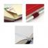 Записная книга Partner А5-(125х195мм) на 96 листов кремовый блок в клетку Axent 8201-05-A пурпурный 0
