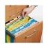 Файл картонный подвесной А4 (315 мм х 240 мм) с индексом Axent 1310-26-A желтый 1