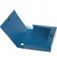 Бокс пластиковый для документов на липучке А4, ширина 55 мм Buromax BM.3201-03 темно-синий 0