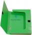 Бокс пластиковый для документов на липучке OMEGA А4, ширина 60 мм Panta Plast 0410-0044-99 зеленый 0