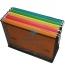 Файл картонный подвесной для картотеки А4 (320 мм х 240 мм) с индексом  Buromax BM.3350-11 оранжевый 2