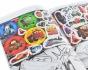 Раскраска А4 с наклейками на 12 страниц