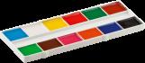 Акварельные краски 12 цветов,белая палитра KIDS Line ZIBI ZB.6501 0