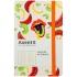Записная книга Partner BBH Soft Fruits 125*195 мм AXENT 8212-03-a 2