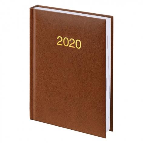Ежедневник карманный датированный BRUNNEN 2020 Miradur, коричневый 73-736 60 70