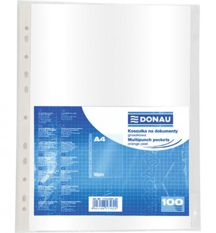 Файлы А4, 50 мкм, 100 шт./уп. глянец Donau 1772100PL-00