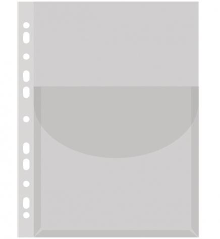 Файлы А4 для каталогов, 170 мкм, с расширением 3 см, глянец, Donau 1775001РL-00