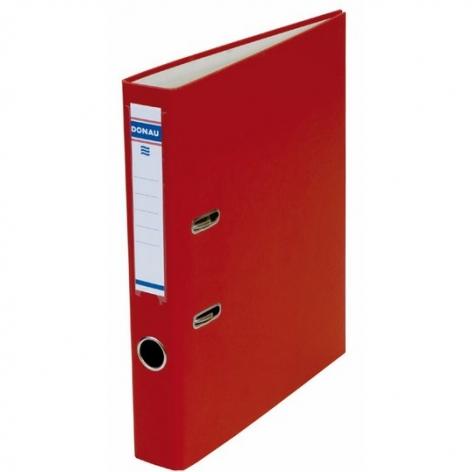 Папка-регистратор Master А4 5 см, односторонний, Donau 3950001M-04 красный