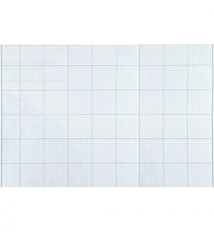 Бумага миллиметровая 10 листов в упаковке А3, 80г/м2, ZiBi  zb.1931 голубая сетка