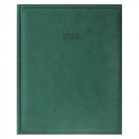 Еженедельник датированный BRUNNEN 2020 Бюро Torino, зеленый, артикул 73-761 38 50 код 43034