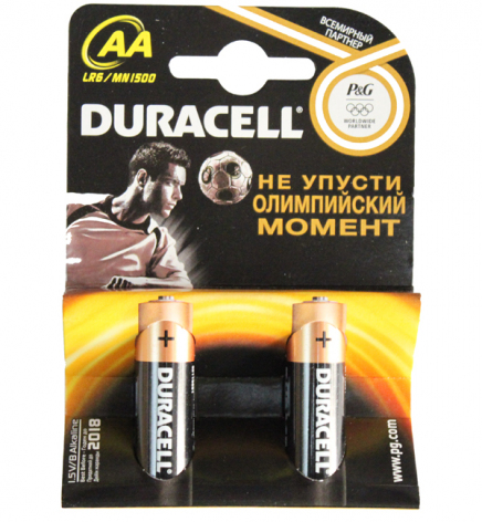 Батарея Duracell Alkaline LR6 MN1500 2xBL