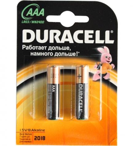 Батарея Duracell Alkaline LR03 MN2400 2xBL