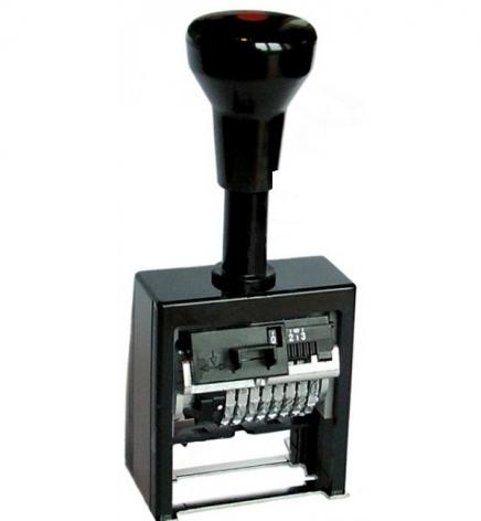 Автоматический нумератор 8-ми разрядный, пластиковый корпус REINER В6К/8