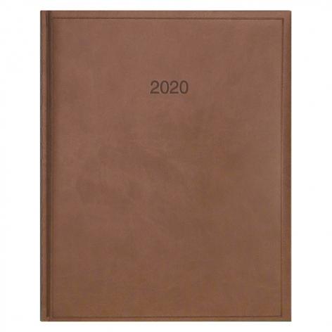 Еженедельник датированный BRUNNEN 2020 Бюро Torino, коричневый, артикул 73-761 38 70 код 43035