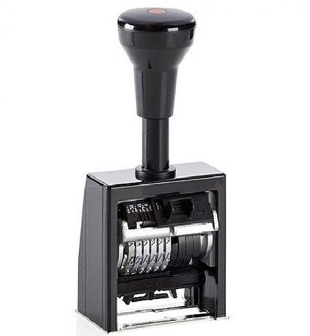 Автоматический нумератор 6-ти разрядный пластиковый корпус REINER В6К/6