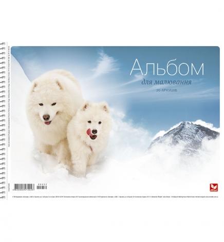 Альбом для рисования 20 листов А4 на пружине серия