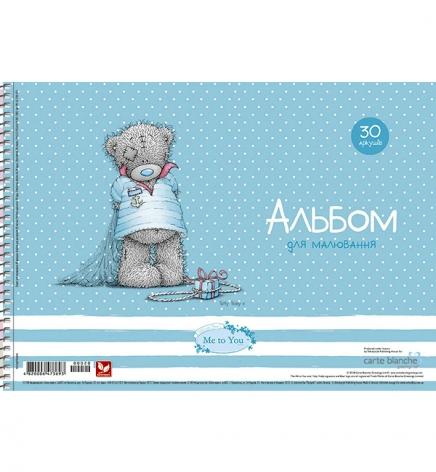 Альбом для рисования 30 листов А4 на пружине серия