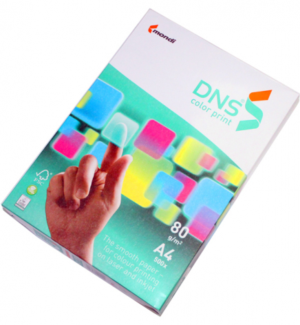 Бумага DNS Color Print А4 80г/м2, 500л