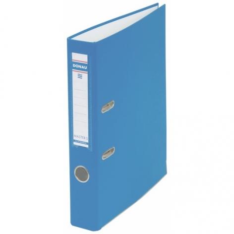 Папка-регистратор Master А4 5 см, односторонний, Donau 3950001M-10 светло-синий