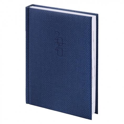 Ежедневник карманный датированный BRUNNEN 2020 Tweed синий 73-736 31 30