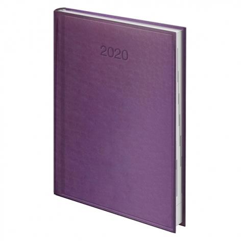 Ежедневник датированный BRUNNEN 2020 Стандарт Torino, сиреневый, артикул 73-795 38 66 код 43174