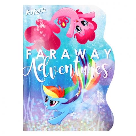 Блокнот А6 формата на 60 листов My Little Pony Kite LP17-223