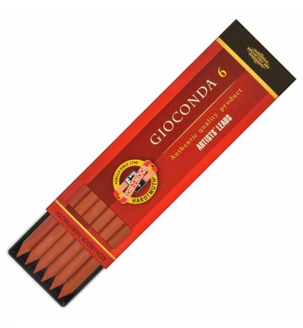 Грифель сангина терракотовая Gioconda, грифель 5.6 мм, Koh-i-noor 4373