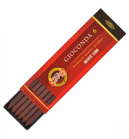 Грифель сепия светло-коричневая Gioconda, 5.6 мм, Koh-i-noor 4377