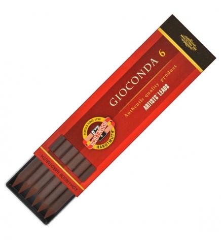 Грифель сепия темно-коричневая Gioconda, 5.6 мм, Koh-i-noor 4378