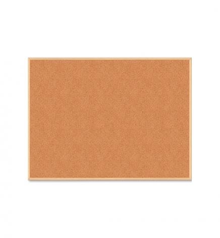 Доска пробковая, 45 x 60 см,  деревянная  рамка, Buromax BM.0013