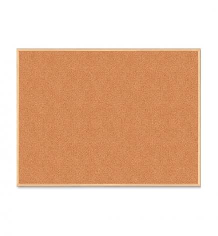 Доска пробковая, 60 x 90 см, деревянная рамка, Buromax BM.0014