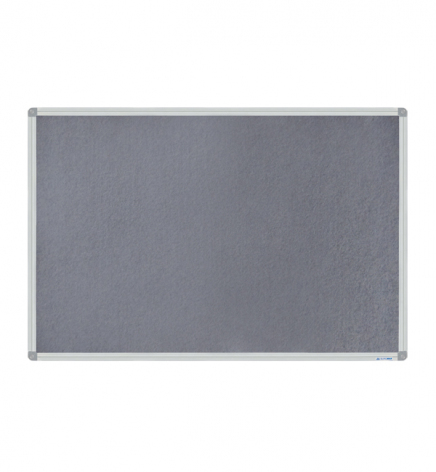 Доска магнитно-текстильная, 60 х 90 см, алюминиевая рамка, Buromax BM.0020