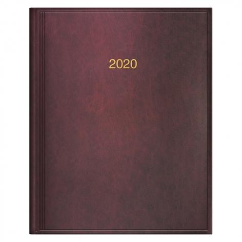 Еженедельник датированный BRUNNEN 2020 Бюро Miradur, бордовый, артикул 73-761 60 29 код 43026