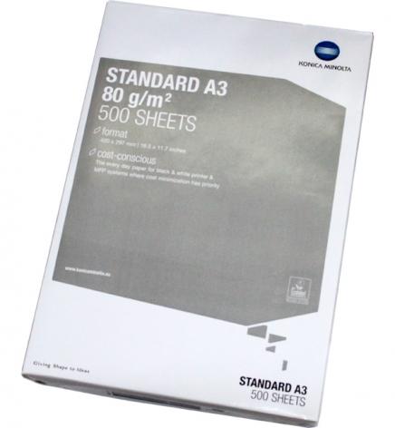 Бумага Konica Minolta  Standard А3 80г/м2, 500 л