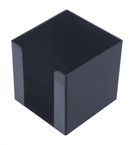 Бокс для бумаги 9 х 9 х 9 см Арника 83033 черный