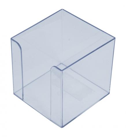 Бокс для бумаги 9 х 9 х 9 см Арника 83032 прозрачный