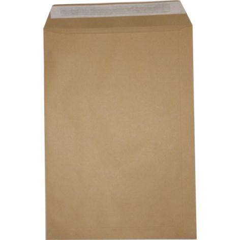 Конверт В4 (250х353мм) крафт, коричневый  СКЛ