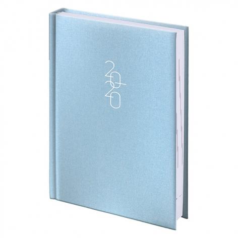 Ежедневник карманный датированный BRUNNEN 2020 Glam голубой, артикул 73-736 30 33 код 43183
