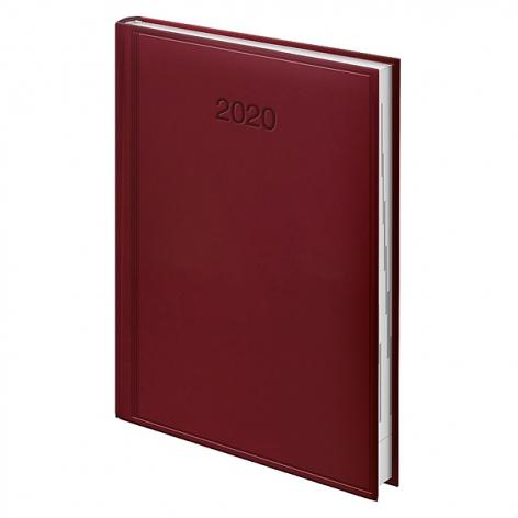 Ежедневник датированный BRUNNEN 2020 Стандарт Torino, красный, артикул 73-795 38 20 код 43002
