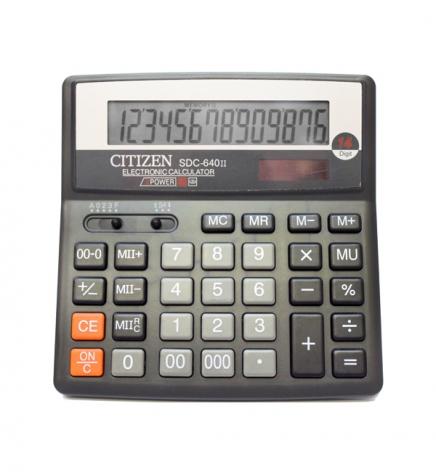 Калькулятор 14р. Citizen SDC-640