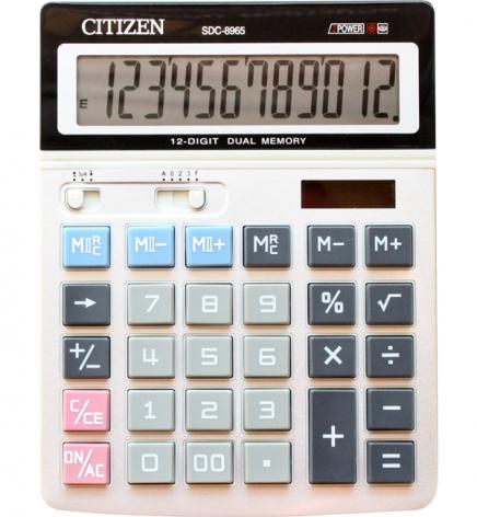 Калькулятор 12р. Citizen SDC-8965