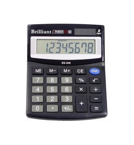 Калькулятор 8р. Brilliant BS-208